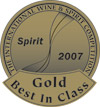 XXX Tequila Reposado Wins Best in Class 2007 International Wine and Spirits Competition
